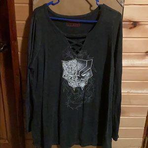 Torrid black Panther shirt
